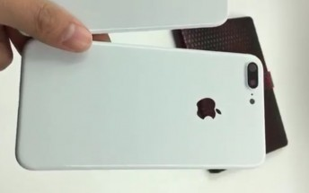 Here's what a Jet White iPhone 7 Plus could look like