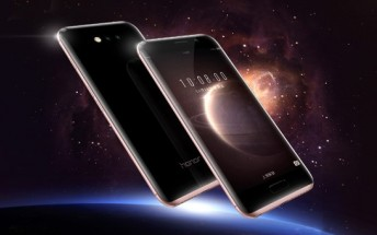 Huawei Honor Magic unveiled: curvy body, dual cameras