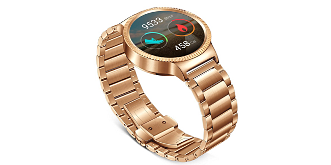 huawei watch rose gold. specifically, amazon has the gold plated variant listed for $479.99, down from $749.99 price tag it usually carries. on other hand, retailer is huawei watch rose