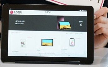 LG launches new G Pad III 10.1 tablet with octa-core CPU, 5MP front camera