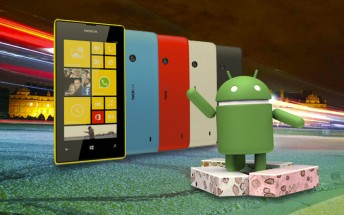 Nokia Lumia 520 boots Android 7.1 Nougat thanks to XDA dev