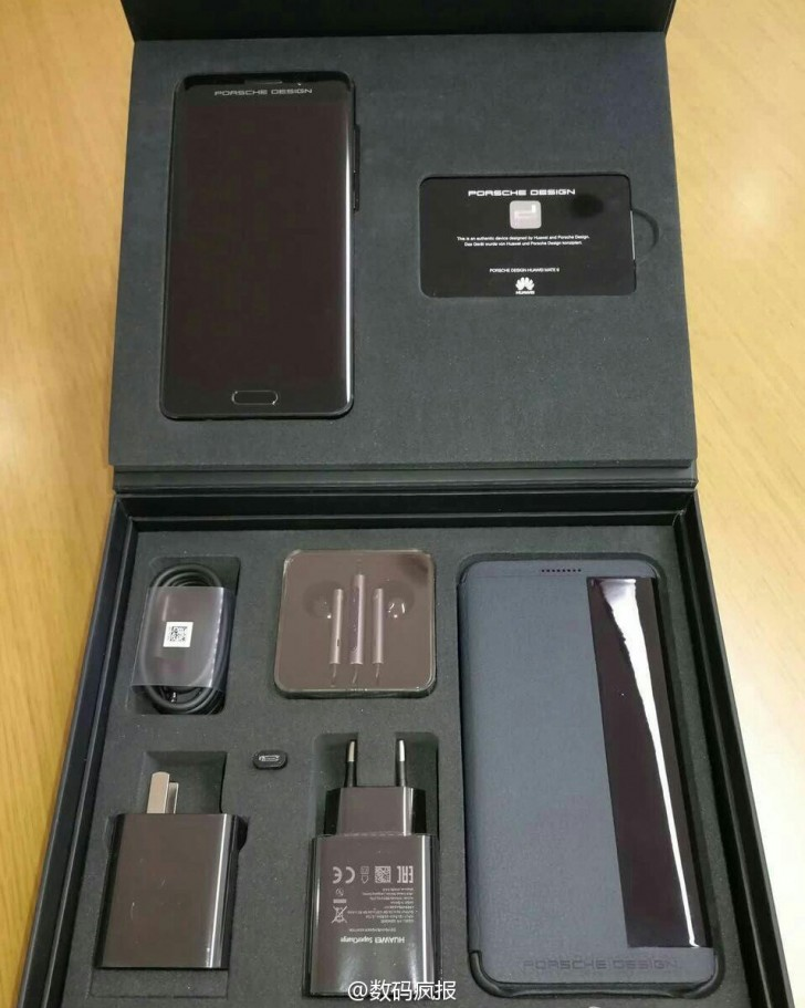 Here is the beautiful Huawei Mate 9 Porsche Design unboxed