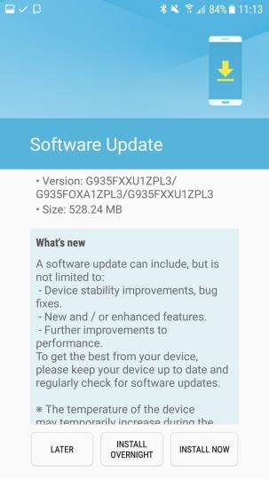 New Samsung Galaxy S7/S7 edge Nougat beta update brings