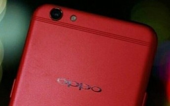 Oppo R9s surfaces in brilliant red, launch imminent
