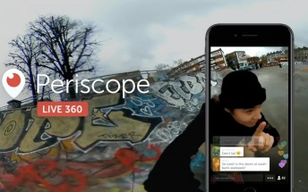 Periscope can now stream live 360-degree video