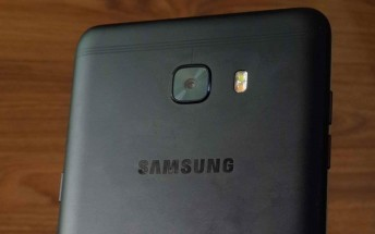 Black color Samsung Galaxy C9 variant spotted in another leaked photo