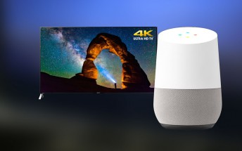 Sony launches firmware update to speakers and Android TVs to work with Google Home
