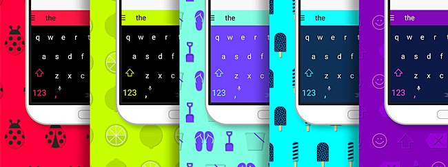 SwiftKey makes all its Android and iOS themes free