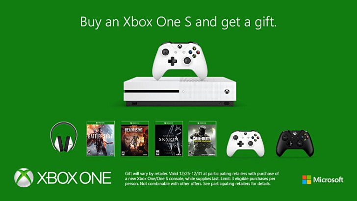 Deal: Buy Xbox One or Xbox One S and get a free gift