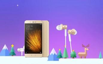 Xiaomi launches Christmas deals in India, Xiaomi Mi 5 price cut 15%