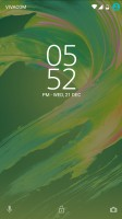 Lockscreen looks the same - Xperia Concept for Android
