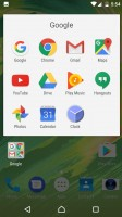 The usual homescreen - Xperia Concept for Android