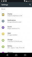 Settings - Xperia Concept for Android