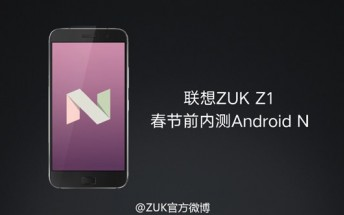 ZUK announces Android 7.0 Nougat update plans for the Z2 Pro and Z1