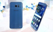 Blue Coral Samsung Galaxy S7 edge is now available at Vodafone UK