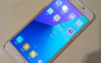 Samsung Galaxy C7 Pro live images leak