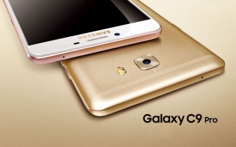 Samsung Galaxy C9 Pro getting new security update