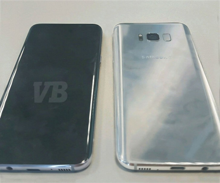 Galaxy S8 live images leak alongside full spec details and launch