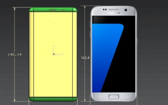 Exclusive: Samsung Galaxy S8 and S8 Plus dimensions show compact phones with huge screens