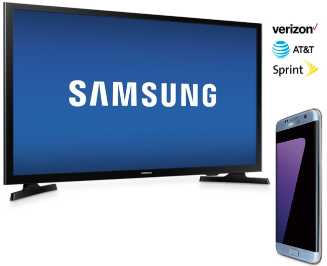 Deal: Get a free Samsung smart TV with Galaxy S7/S7 edge - GSMArena blog