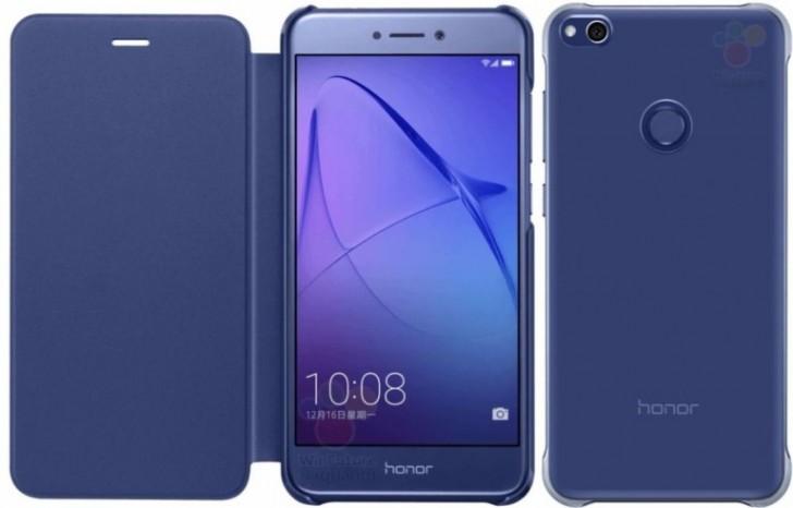 Honor 8 Lite leaks inside a case, looks just like the Huawei