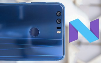 Nougat update for Honor 8 will roll out on January 16 in Japan