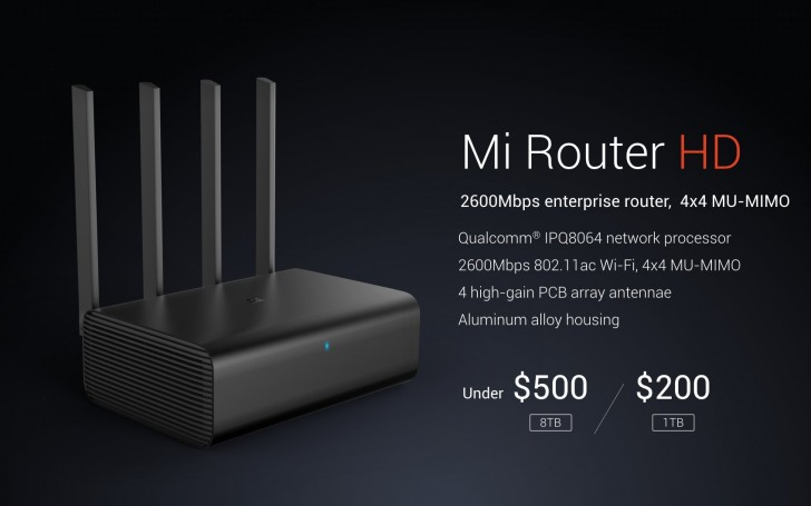 Xiaomi announces Mi Router HD at CES for China - GSMArena blog