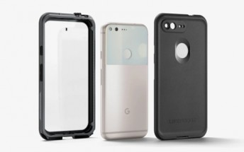 Google starts selling water resistant LifeProof cases for the Pixel and Pixel XL