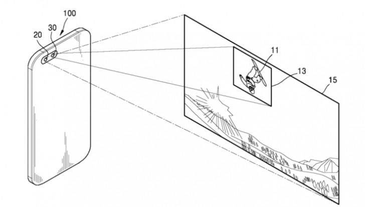 samsung files patent for dual-lens camera configuration