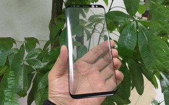 These are the glass panels for the Galaxy S8, allegedly