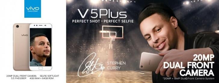 Vivo V5 Plus leaked specs reveal dual front cameras