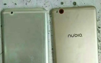 ZTE Nubia with no back-mounted fingerprint sensor leaks