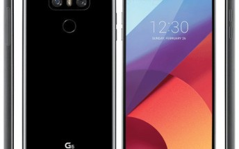 LG G6 press renders leak showing shiny black version from all angles