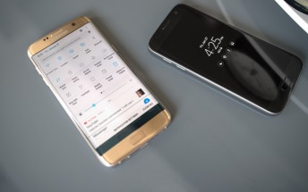 Samsung Galaxy S7 edge battery life on Android 7.0 Nougat