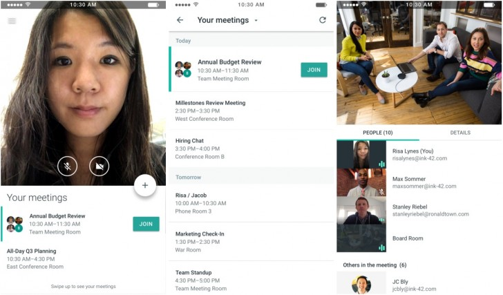 Google Launches Meet An Online Meeting Service For Businesses