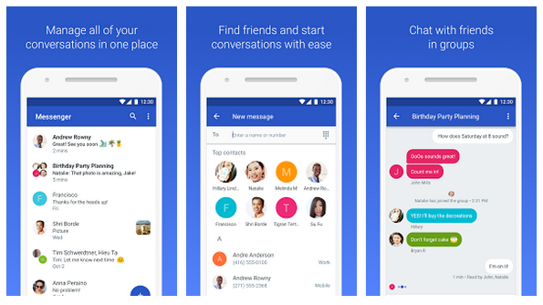 google has renamed its messenger app to android messages updated