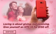 HTC starts Valentine's Day sales, offers $150 off the 10, $200 off the A9, and $250 off the M9