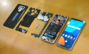 LG G6 disassembly reveals an advanced heat pipe, sealed-in Li-Po battery