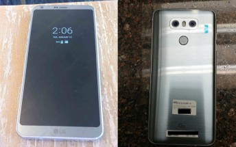 New LG G6 live images surface, highlight always-on display and shiny back