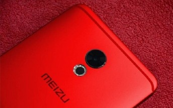 [Flames] Red Meizu Pro 6 Plus shows up in live images