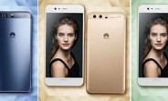 Leak shows Huawei P10 in blue, green, and gold colors