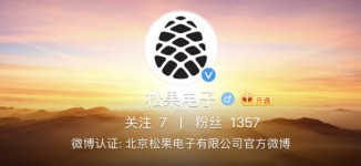 Pinecone's Weibo page offers very little information