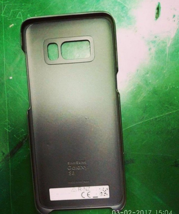 Official Samsung Galaxy S8 cases surface