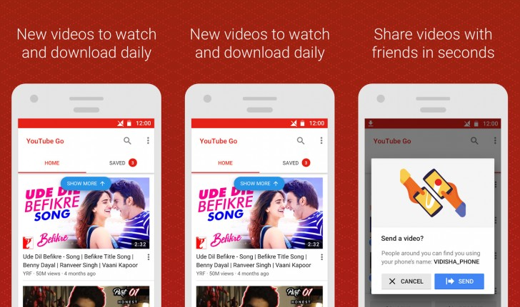 YouTube Go beta is live, lets you download videos for offline