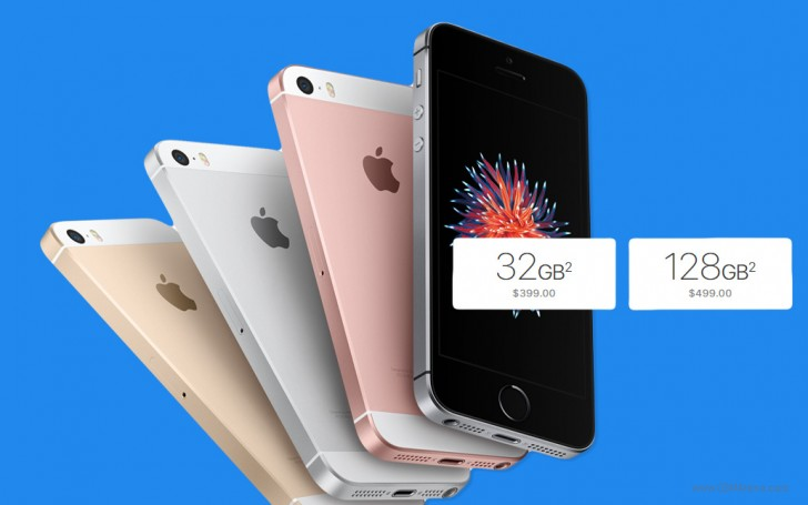 apple doubles the iphone se storage to 32gb 128gb. Black Bedroom Furniture Sets. Home Design Ideas