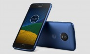 Blue Sapphire Moto G5 gets pictured in leaked press renders