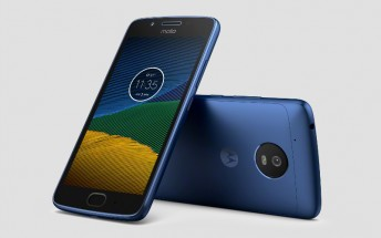 Sapphire Blue Moto G5 goes on sale in UK