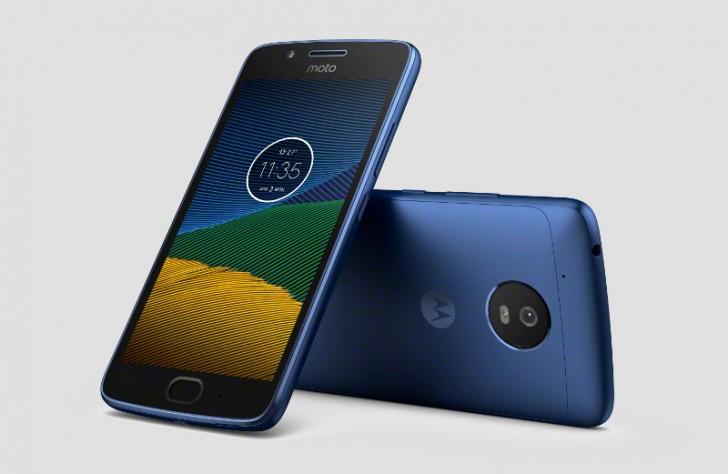 Blue Sapphire Moto G5 gets pictured in leaked press ...