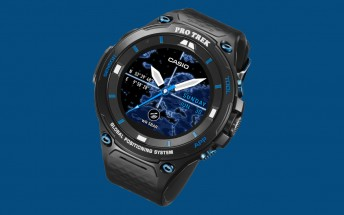 Casio put sapphire glass on its rugged Android Wear 2.0 watch