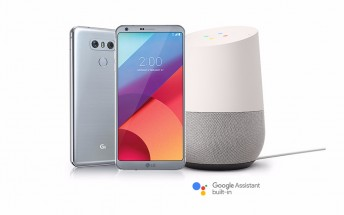 If you buy an LG G6 in the US, you get a Google Home for free